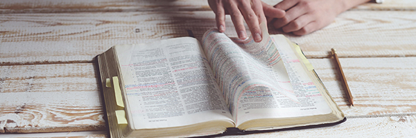 open Bible inspiration
