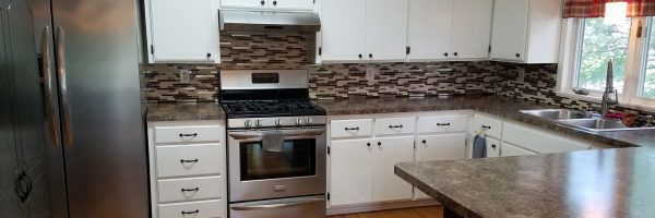 sober housing kitchen